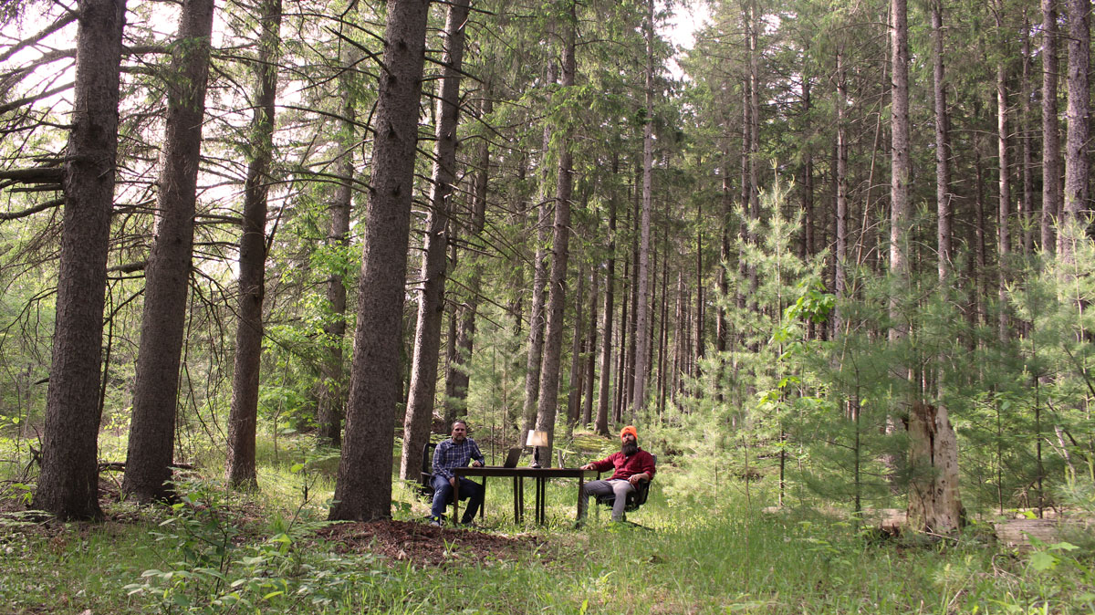 Coworking in the Woods